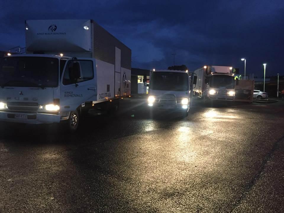 Removalist's Trucks Sunshine Coast