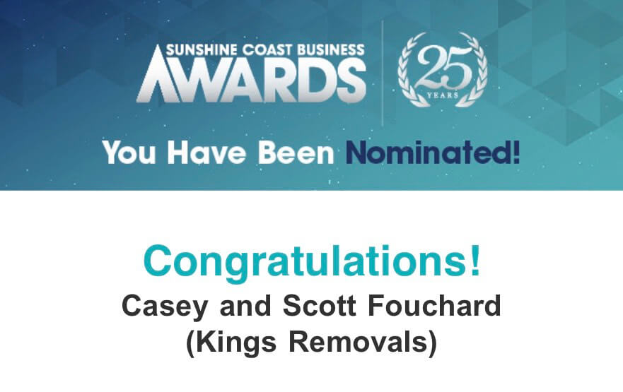 Sunshine Coast Business Awards 2019 - Removalists