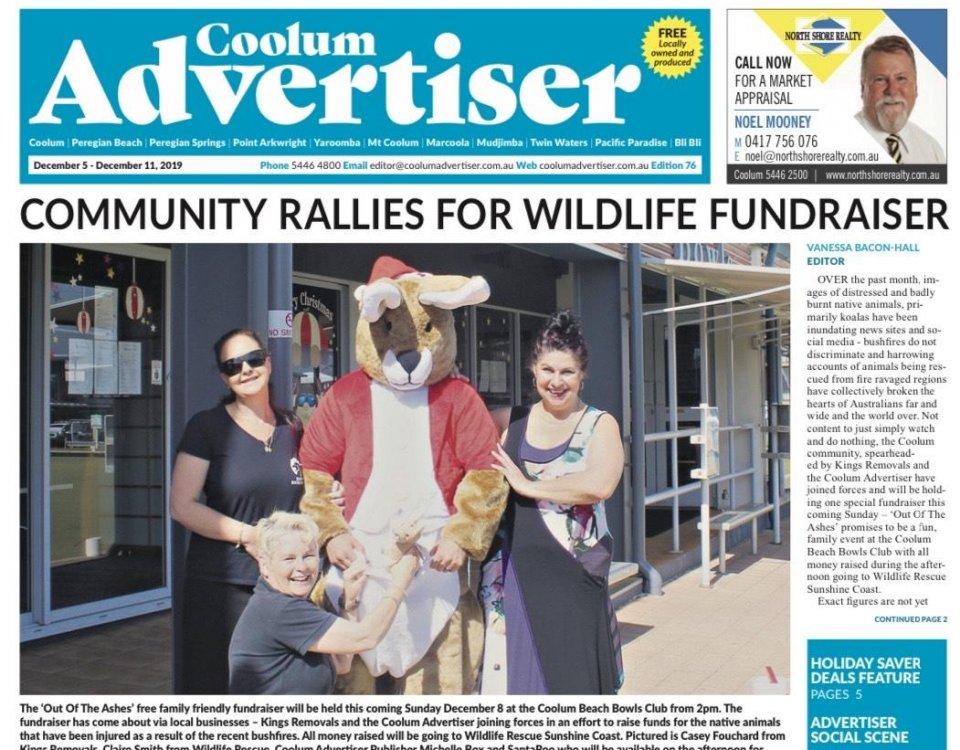Community Wildlife Fundraiser - Sunshine coast