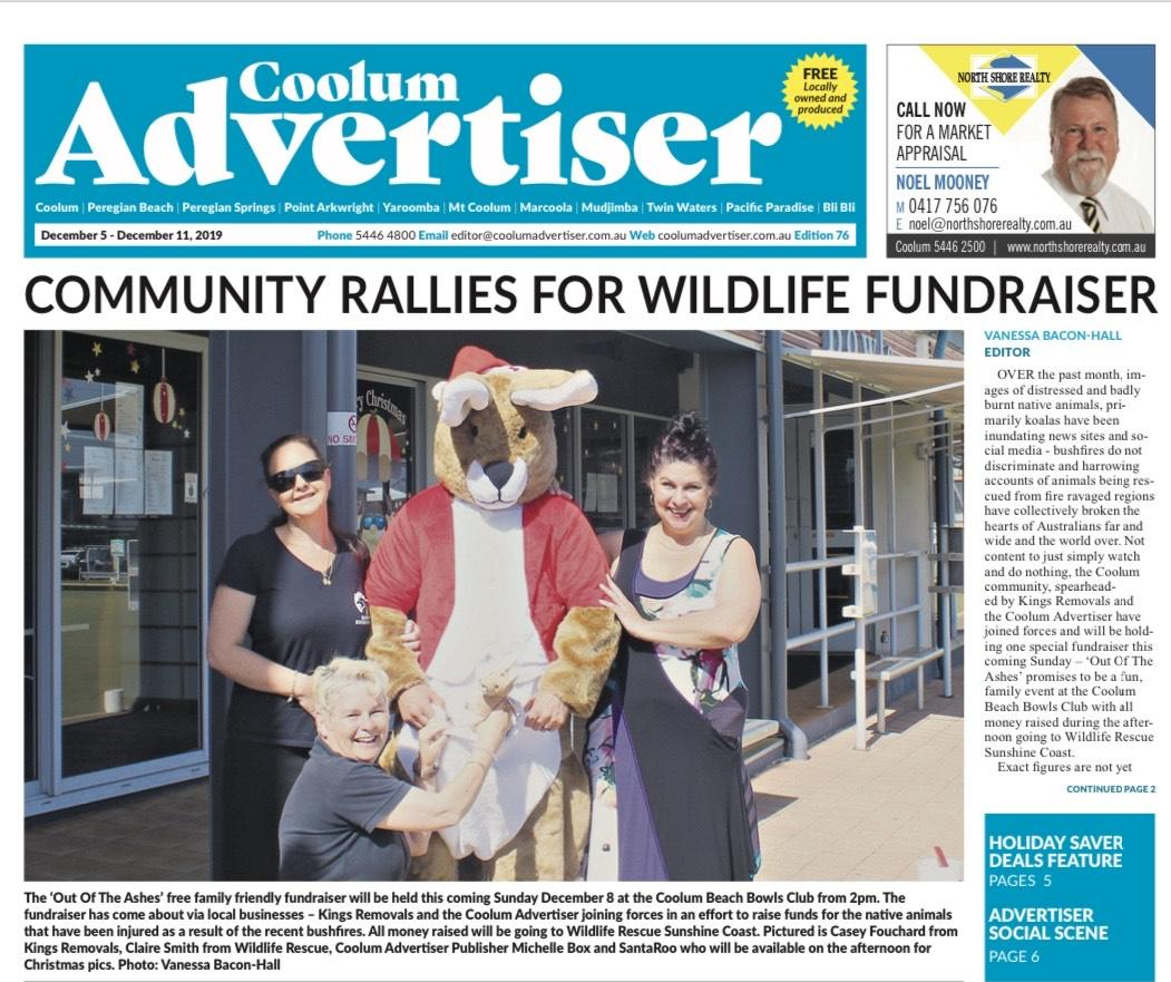 Community Wildlife Fundraiser – Sunshine coast