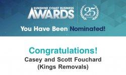 Sunshine Coast Business Awards 2019 - Removalists